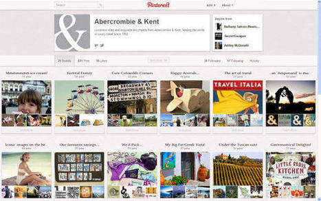 Making Pinterest Work for Your Travel Brand | Travel Industry News & Conferences - EyeforTravel | Getting started in social media | Scoop.it