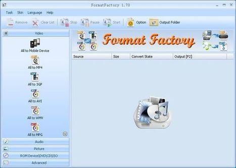 Format Factory: conversor gratuito para tus imágenes, vídeos y audios | Software y Apps | Scoop.it