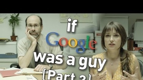Even More Reasons To Be Glad Google Isn't a Real Guy | Communication design | Scoop.it