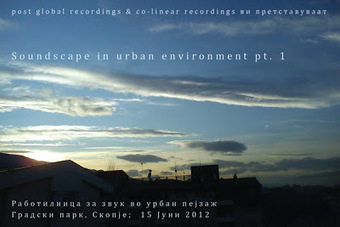 Soundscape workshop: Soundscape in urban environment | DESARTSONNANTS - CRÉATION SONORE ET ENVIRONNEMENT - ENVIRONMENTAL SOUND ART - PAYSAGES ET ECOLOGIE SONORE | Scoop.it