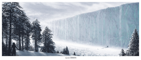 Epic New GAMES OF THRONES Mondo Poster - Wall ofWesteros | Geek On | Scoop.it