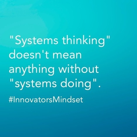 """Systems Thinking"" and ""Systems Doing"" 