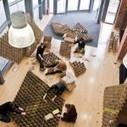 Universitarios construyeron una cafetería con cartón reciclado | PRO Universitarios | arte | Scoop.it