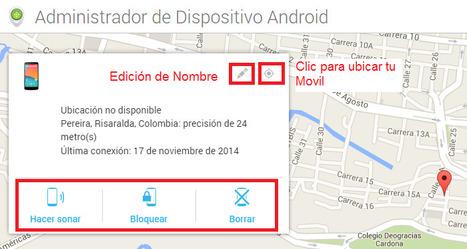 Geoinformación: El administrador de dispositivos Android permite ubicar, hacer sonar, bloquear y borrar la información de tu teléfono de manera remota   Google Places, Geomarketing y LBS   Scoop.it