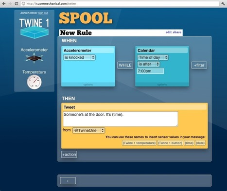 Supermechanical : Twine - Listen to your world, talk to the Internet | Robotics Frontiers | Scoop.it