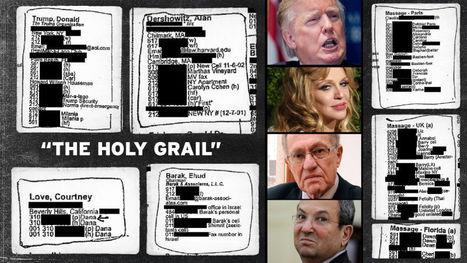 Here Is Pedophile Billionaire Jeffrey Epstein's Little Black Book | anonymous activist | Scoop.it