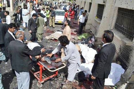 93 killed, over 120 injured in bomb attack at hospital in Pakistans Quetta | The Pulp Ark Gazette | Scoop.it