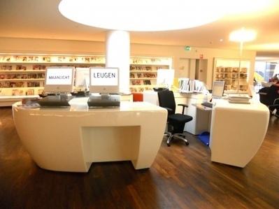 Pour du design inclusif en bibliothèque : le cas de la station d'aide à l'information et au lecteur   Architecture des bibliothèques   Scoop.it