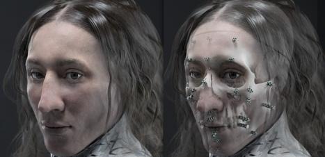 Thomas Craven ou la résurrection en 3D d'un protestant anglais mort à Paris en 1636 | Théo, Zoé, Léo et les autres... | Scoop.it