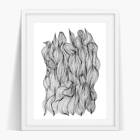 Knots Art Poster Print | Artist and Crafter Showcase | Scoop.it