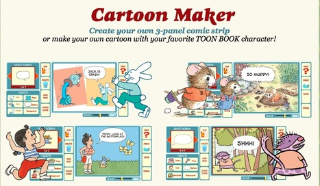 TOON Books - Easy to Read Comics | Publishing and Presenting Ideas | Scoop.it