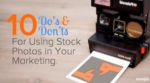10 Do's and Don'ts for Using Stock Photos in Your Marketing [SlideShare] | MarketingHits | Scoop.it