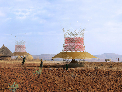 A Bamboo Tower That Produces Water From Air   WIRED   What about? What's up? Qué pasa?   Scoop.it