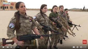 Syrian Christian Girls Train to Defend Their Homes from US-Backed 'Moderate' Rebels (Video) | Saif al Islam | Scoop.it