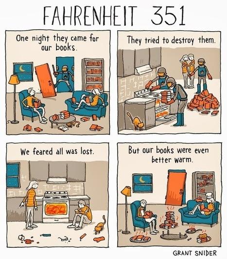 Fahrenheit 351, A Comic with a Funny Twist on Ray Bradbury's ... | ABC Texts | Scoop.it