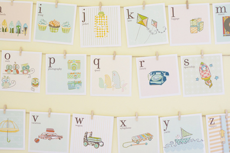 free downloadable alphabet cards | the handmade home | Supporting Children's Literacy | Scoop.it