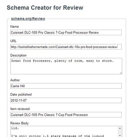 How to Add Reviews to Your Site Using Schema Structured Data Markup | Web Analytics and Web Copy | Scoop.it