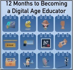 12 Months to Becoming a Digital Age Educator | Learning Analytics -Towards a New Discipline- | Scoop.it