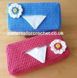 Tissue Box Cover by Patterns For Crochet - Crochet Pattern Bonanza | Free Crochet Patterns | Scoop.it