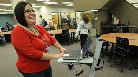Schools make shifts as focus moves from books to computers - Monroe Evening News | School Library Advocacy | Scoop.it