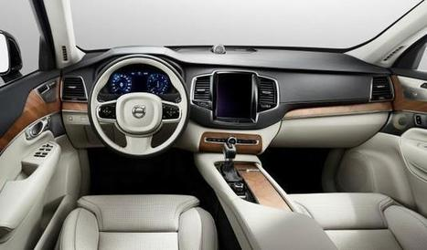 Pictures of 2015 Volvo XC90's Cabin Released - ecardlr | HOUSTON DIRECT AUTO | Scoop.it