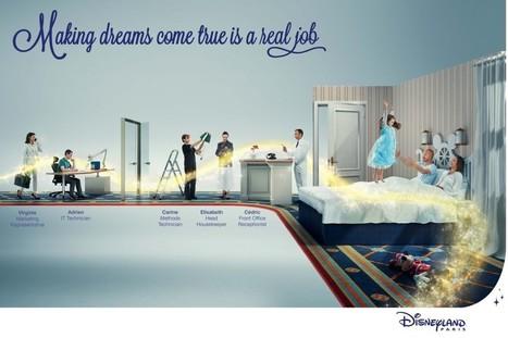 Focus sur la nouvelle campagne de marque employeur de Disneyland Paris : « Faire Rêver, c'est un Métier » | Marque Employeur par @ClemenceBJ | Scoop.it