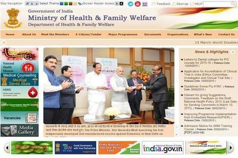 Govt to start national network for tele-medicine   Tele-Health   Scoop.it