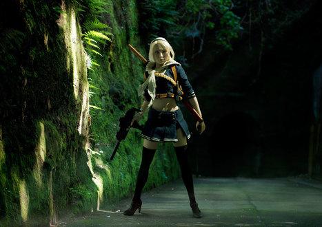 photo -  Tilt-shift Photography With Popular Anime Figures エンジェルウォーズ Sucker Punch | VIM | Scoop.it