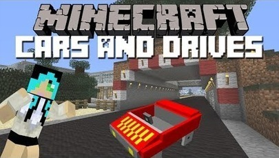 Bike Mod Minecraft 1.7.10 Cars and Drives Mod