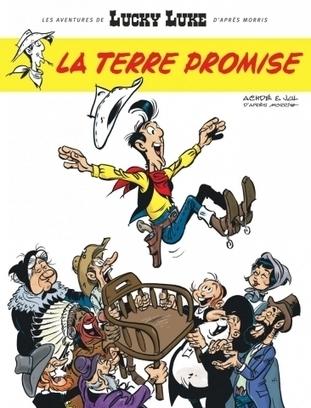 Lucky Luke : de Morris à La Terre promise, toute l'histoire du cowboy | L'actu country pour les pottoks | Scoop.it