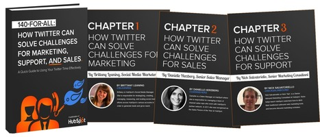 A brief eBook on using your Twitter time Effectively (HubSpot) | Higher Ed and Information Technology | Scoop.it