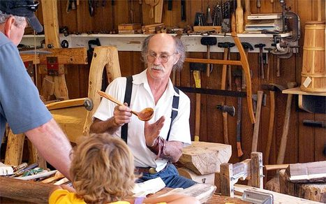 Old Is New When You're a Folk School Student - Organic Connections | Healthy Living | Scoop.it