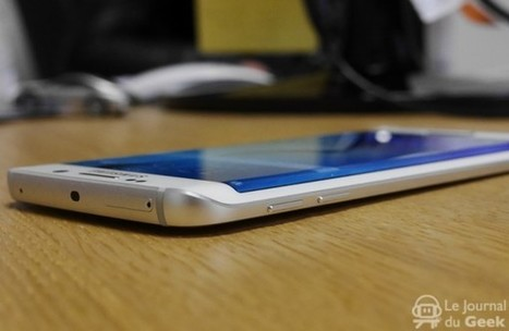 Grosse demande autour du Galaxy S6 Edge | INFORMATIQUE 2015 | Scoop.it