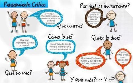 Fases por las que un aprendiz debe pasar para hacer uso del Pensamiento Crítico #kitprofes - Inevery Crea | EDUCACION-CALIDAD | Scoop.it