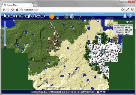 JourneyMap Mod 1.6.4 | Minecraft 1.6.4 Mods | Scoop.it