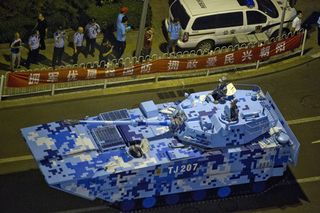 The New Aesthetic — Digital Camouflage in China's military parade to... | Research_topic | Scoop.it