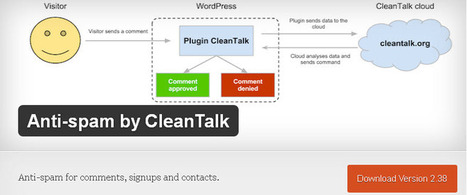 Anti-spam by CleanTalk - WordPress Anti-Spam Plugins | Cours Informatique | Scoop.it