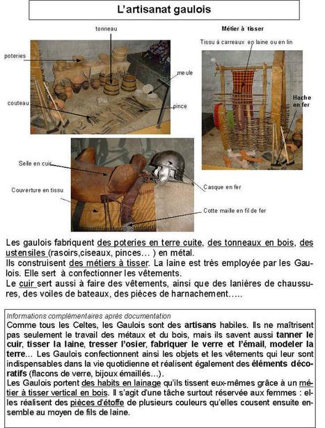 L'artisanat Gaulois | Les métiers gaulois | Scoop.it