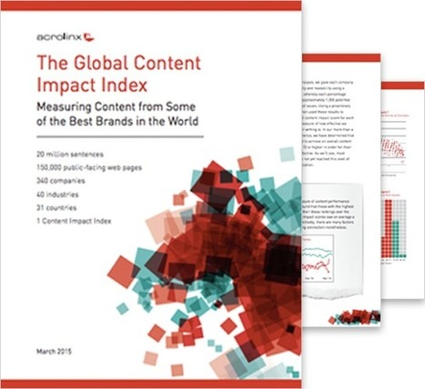 Global Content Impact Index March 2015 - Acrolinx | Public Relations & Social Media Insight | Scoop.it
