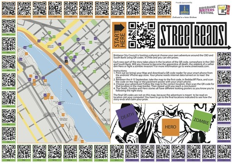 QR Codes Tell The Story | Transmedia: Storytelling for the Digital Age | Scoop.it