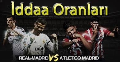 Real Madrid - Atletico Madrid İddaa Oranları | iddaa | Scoop.it
