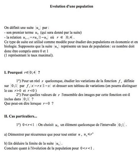 Une curiosité mathématiques en Terminale S | Mathématiques - Collège Lycée - | Scoop.it