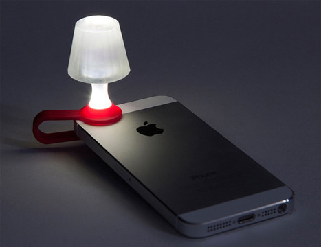 Read by the light of your iPhone with this quirky, clip-on lampshade | Macwidgets..some mac news clips | Scoop.it