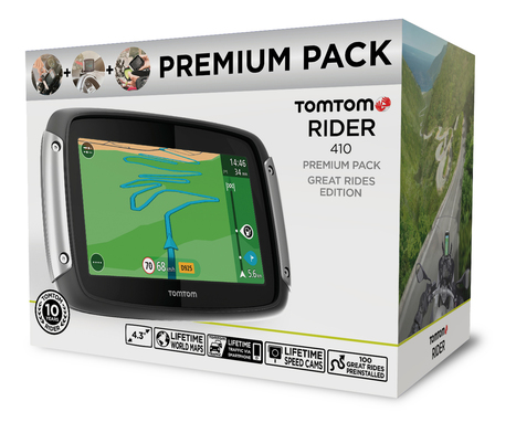 TomTom RIDER 410 Great Rides Edition Launched | Motorcycle Industry News | Scoop.it