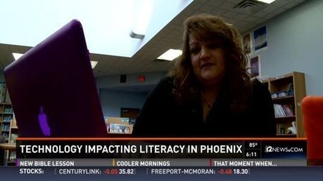 Improving literacy through technology - azcentral.com | Professional development of Librarians | Scoop.it