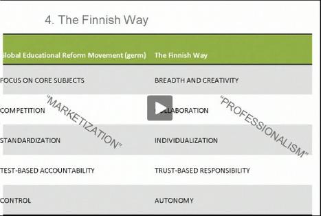 Onderwijshervormingen in Finland: Teach less, learn more | Leervlak.nl | Master Leren & Innoveren | Scoop.it