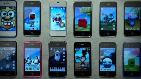 60 iPhones interprètent un chant de Noël | Apple World | Scoop.it
