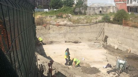 Hallan restos de época romana y moderna en la calle Miragaia | Arqueología romana en Hispania | Scoop.it