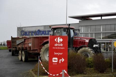 Agriculteurs : la Bretagne sous tension, cinq interpellations à Quimper - Le Parisien | Le Fil @gricole | Scoop.it