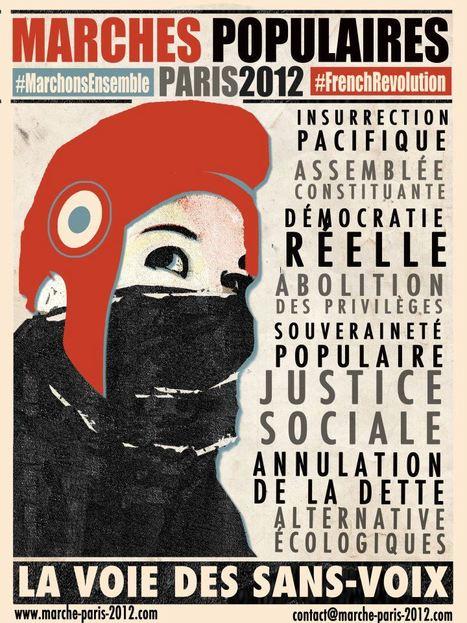 La Voie des Sans-Voix - Marches Populaires #marcheparis #marchonsensemble #occupywalk | Occupy Belgium | Scoop.it